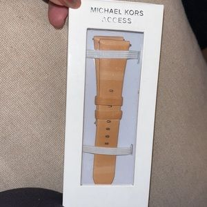 MICHAEL KORS LEATHER WATCH BAND 22mm New with tag
